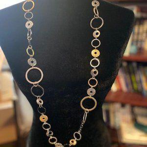 Lia Sophia beautiful long statement necklace